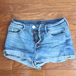 EUC Kendall & Kylie jean shorts
